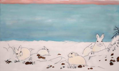 Blazing star gallery ,Bunnies in a Sunny day in watercolor